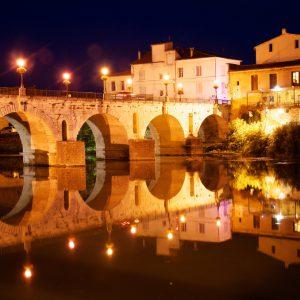 Le pont Romain habité